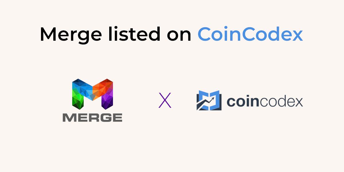 Merge on CoinCodex