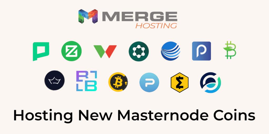 Hosting new masternode coins
