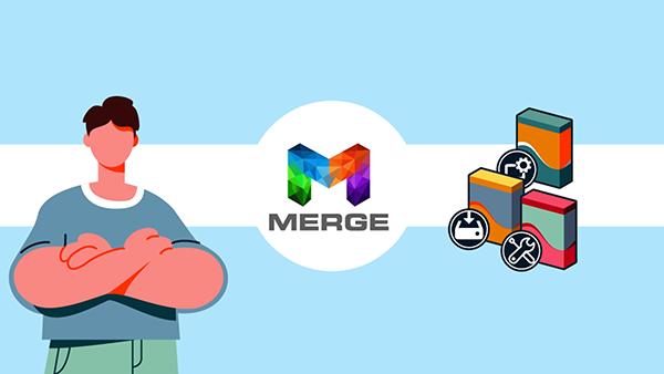 Merge Tokenomics Animation