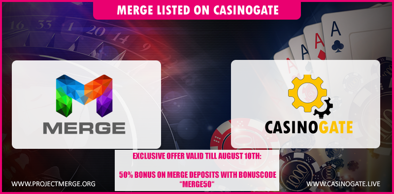 Merge CasinoGate Listing