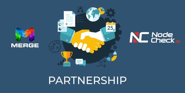 Merge NodeCheck Partnership